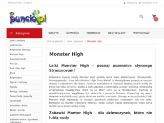 Zestawy Monster High